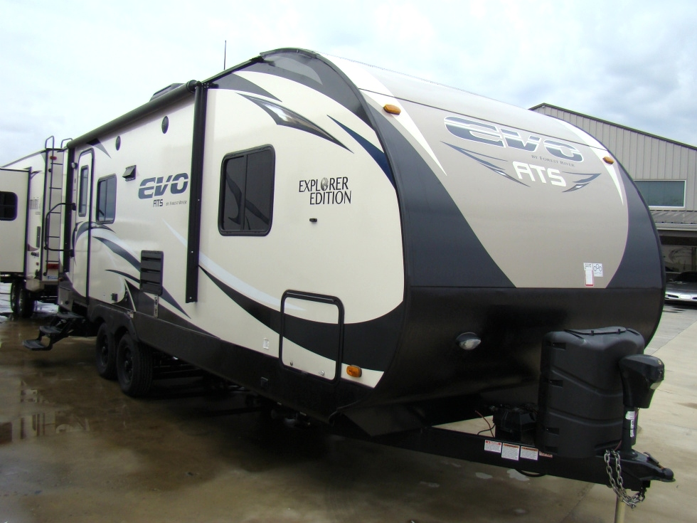 2016 FOREST RIVER STEALTH EVO 26FT 1-SLIDE TRAVEL TRAILER FOR SALE RV Parts
