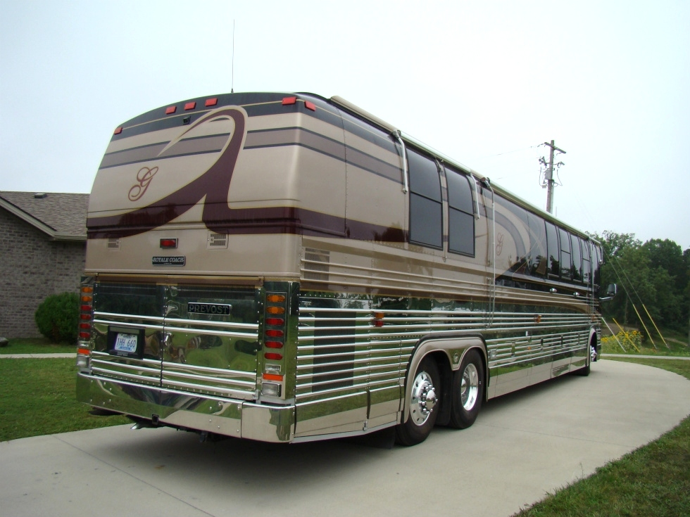 1998 PREVOST XL45 ROYALE COACH CONVERSION.BUS FOR SALE RV Parts