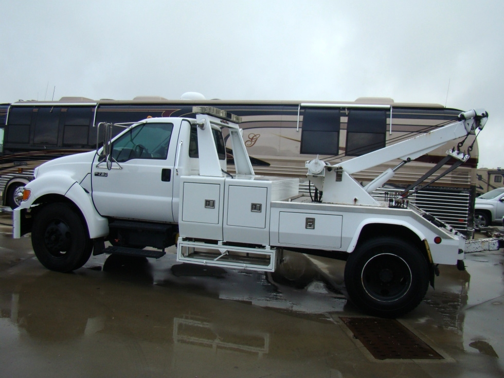 Ford F750 For Sale >> RV Parts 2008 Ford F750 tow truck for sale ( WRECKER ) PreOwned and Repairable Autos   WRECKER ...