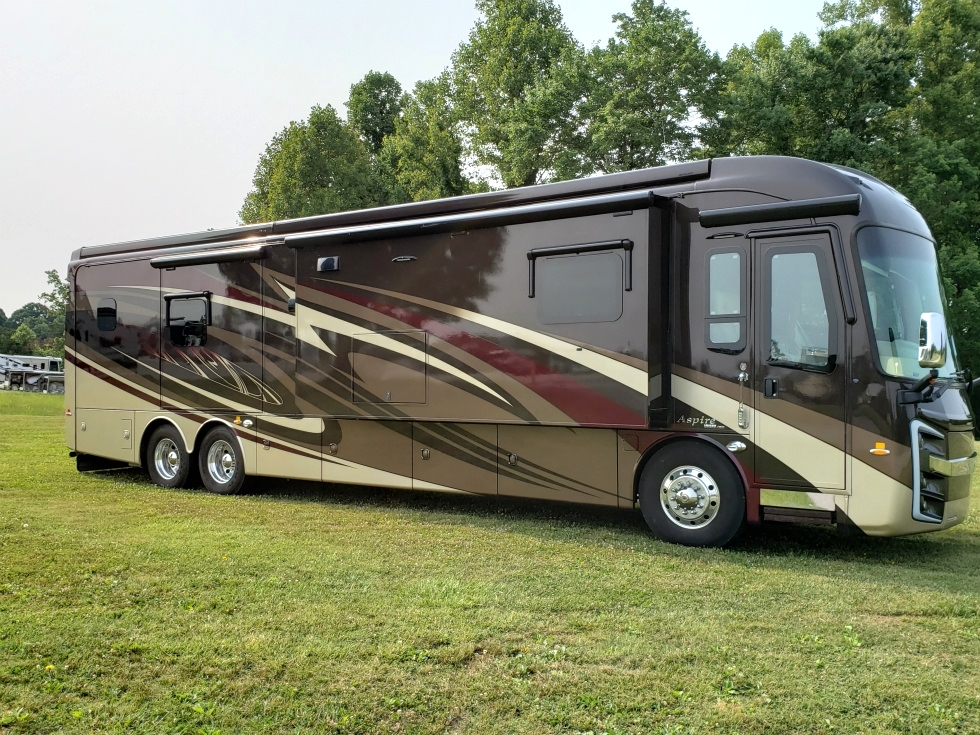 2017 ENTEGRA ASPIRE AUTUMN BERRY IN COLOR  ASKING $255,900.00 RV Parts